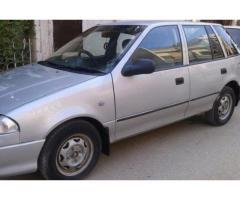 Suzuki Cultus Silver Color New Engine For Sale In Karachi