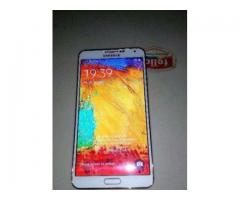 Samsung Galaxy Note 3 White Color With Original charger Sale In Hyderabad