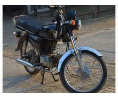 70 cc Bike New Engine And Tyre Model 2010 For Sale in Islamabad