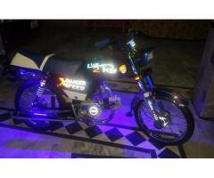 Zxmco Bike Fully Modified Neat And Clean Bike For Sale In Peshawar