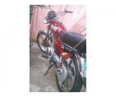 Honda 125 Excellent Condition Model 2015 Double Spare Parts Sale in Wah