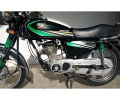 Honda CG 125 Euro 2 Black Color Powerful Engine For Sale In Karachi