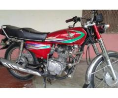 Honda 125 Red Color Model 2013 No Accident For Sale In Rawalpindi