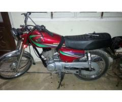 Honda CG 125 New Tyre Model 1997 Perfect Engine For sale In Karachi