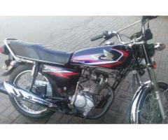 Honda 125 Euro II Black Color New Tyre And Battery For Sale In Faisalabad