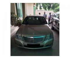 Mercedes E 250 Fully Maintained Model 2010 Untouched For Sale in Lahore
