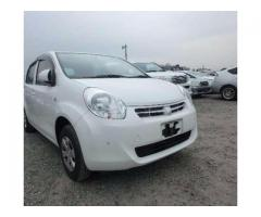 Toyota Passo 2013White Color Parking Sensors Installed For Sale In Lahore