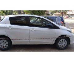 Toyota Vitz Automatic Gear Model 2011 White Color For Sale In Karachi