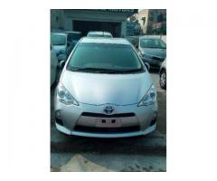 Toyota Aqua Unregistered Low Mileage ABS Brakes For Sale In Lahore