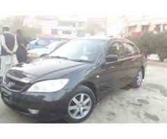 Honda Civic VTI Oriel Black Color New Tyre Model 2005 Sale In Islamabad