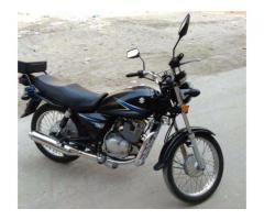 Suzuki GS 150 Black Color Powerful engine Model 2014 Sale in Lahore