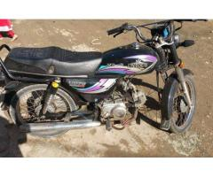 Unique Bike 70 cc Original document Model 2013 For Sale In Karachi
