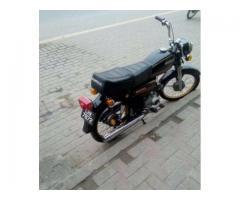 Honda CD 70 Black Color Model 1984 Powerful Engine Sale In Lahore