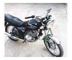 Suzuki 150 cc  Black Color Full Genuine Condition Model 2013 Sale In Karachi