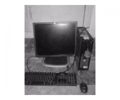 Dell System With LCD 1GB Ram Fast Processor For Sale In Rawalpindi