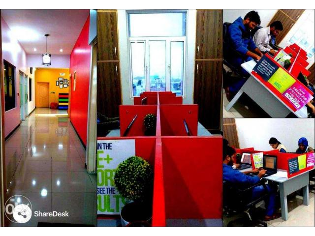 Get your Shared Office Space for Rent in Karachi-Well Furnished