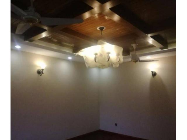 1 Kanal Brand New House Ground Portion Available for Rent In Islamabad