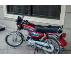 Union Star Bike 70 cc Model 2016 Red Color For Sale In Islamabad