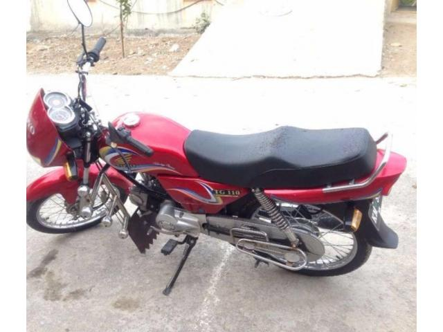 Toyo Bike 110 cc Red Color Beautiful Bike New Tyre for Sale In Mirpur