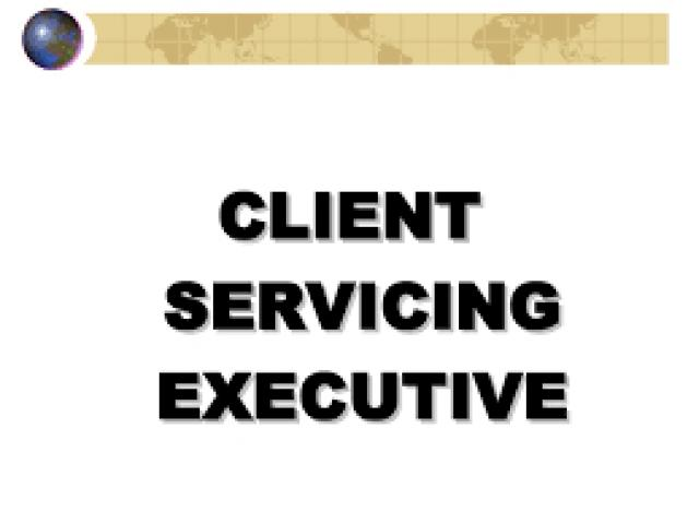 Senior Client Executive Required For Our HR Solutions Company In Lahore