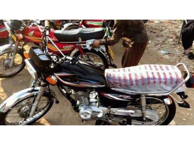 Honda Cg 125 Black Color Brand New Bike Model 2015 Sale In