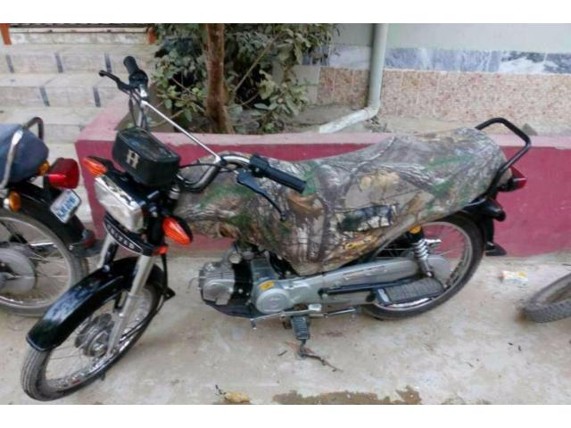 Unique Bike 70 cc Black Color Powerful Engine For Sale In Karachi