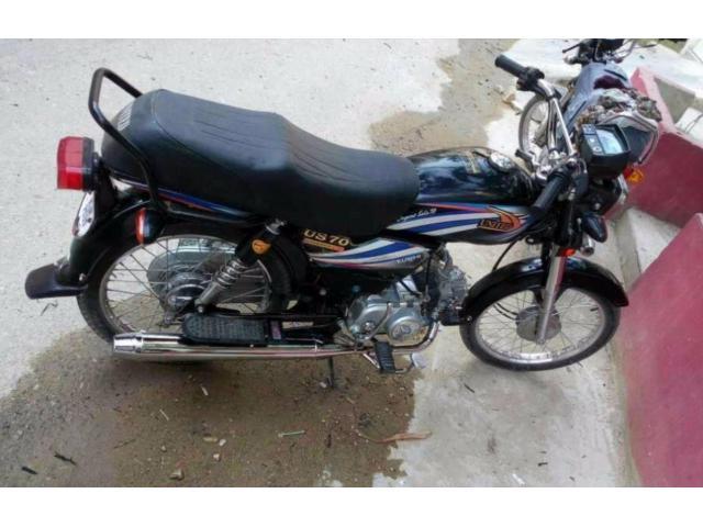 Unique Bike 70 cc Black Color Powerful Engine For Sale In Karachi