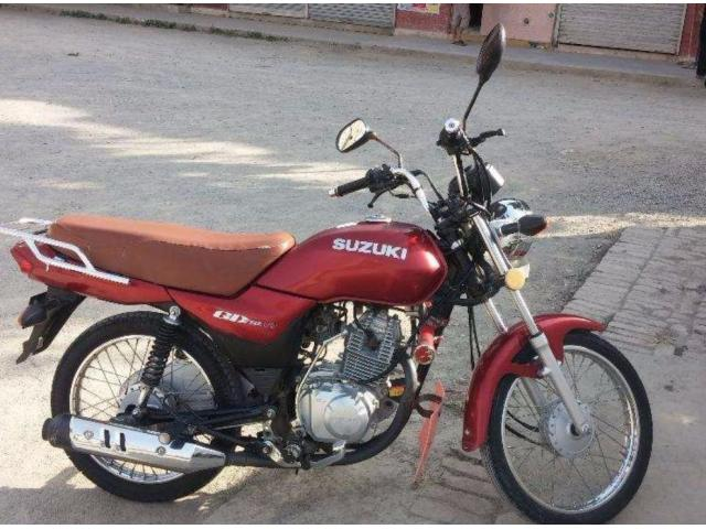 Suzuki GD 110 cc Red Color Genuine Spare Parts For Sale In Rawalpindi
