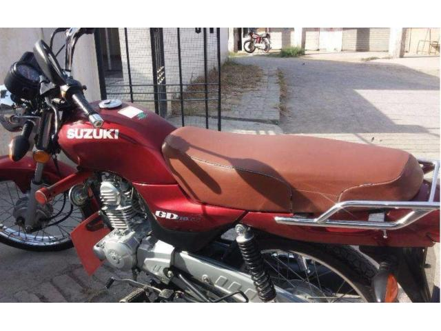 Suzuki GD 110 cc Red Color Genuine Spare Parts For Sale In Rawalpindi