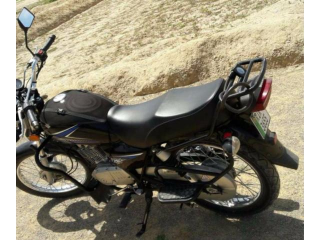Suzuki GS 150 cc Heavy Engine Black Color Model 2014 Sale In Rawalpindi