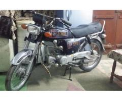 Honda CD 70 Black Color Engine Working Perfectly Sale In Nowshera