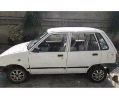 Suzuki Mehran Model 1988 White Color Excellent Condition Sale In Lahore