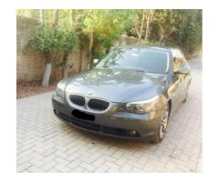 BMW Beautiful Car Genuine Condition Soundless Engine Sale In Rawalpindi