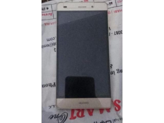 Huawei P8 lite Golden Color With 7 Month Warranty For Sale In Lahore