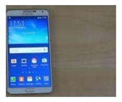 Samsung Galaxy Note 3 With Original Charger For Sale In Faisalabad