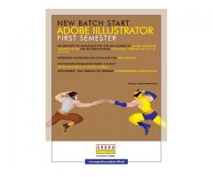 New Batch Start Adobe Illustrator | Arena Multimedia Gulshan-e-iqbal