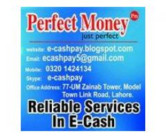 Withdraw Perfect Money in Pakistan