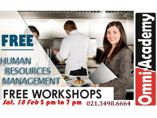 Free Workshops 18th Feb,17-Karachi