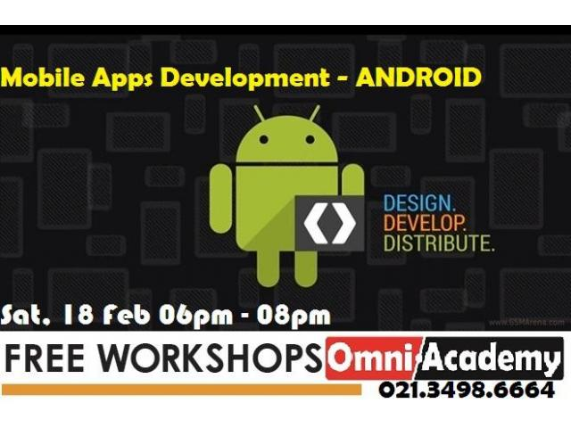 Free Workshops 18th Feb,17-Karachi