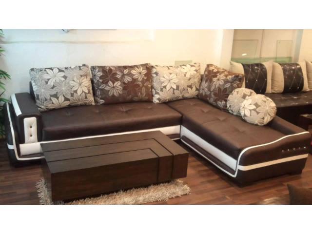 Five Seater Sofa with Poshish Table