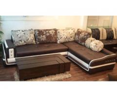 Five Seater Sofa with Poshish Table