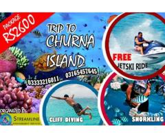 A Day Long Trip to Churna Island Enjoy Life with SMS