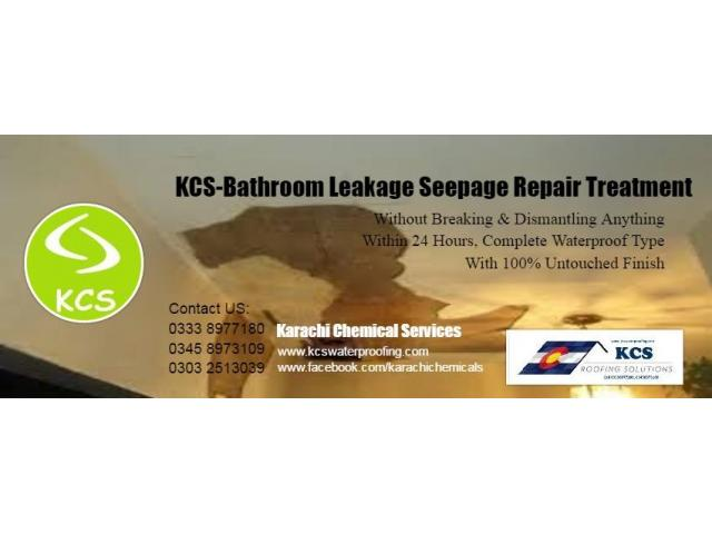 Damage Bathroom Leakage Repair Services Karachi