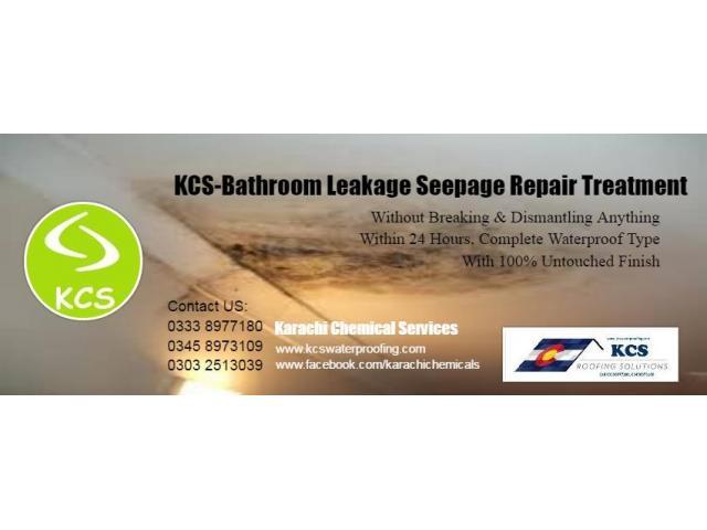 Damage Bathroom Leakage Repair Services Karachi