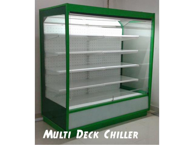 Open Chiller, Multi Deck Chiller,