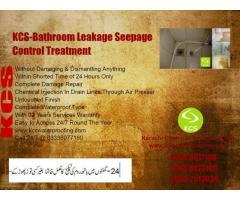 Bathroom Leakage Treatment Without Damage