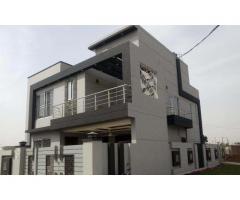 OPF 10-Marla corner brand new V. beautiful bungalow proper double unit