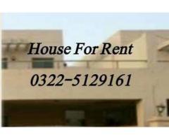 House for rent in Askari-10
