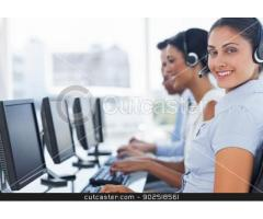 We required staff for inbound call center