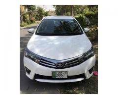 Toyota Altis 1.6 automatic super white 2015